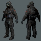 sas, low poly, marmoset toolbag 2